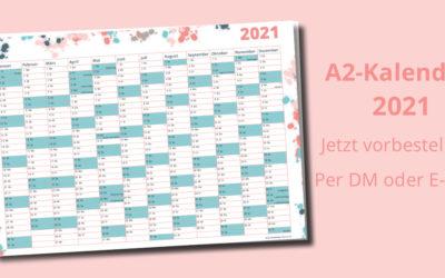 Praktischer Wandkalender 2021